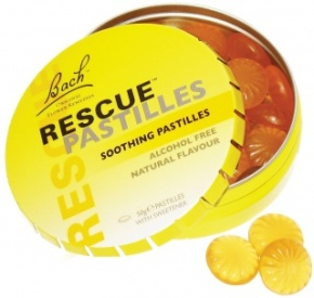 Take Rescue Remedy in pastilles or oral spray which can be purchased at natural food stores and some Walgreens